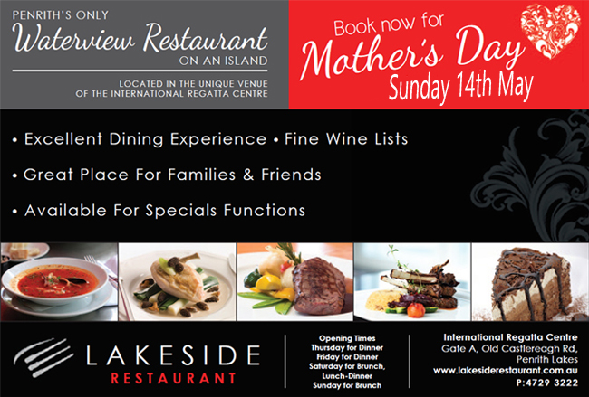 Mothers Day at Lakeside Restaurant