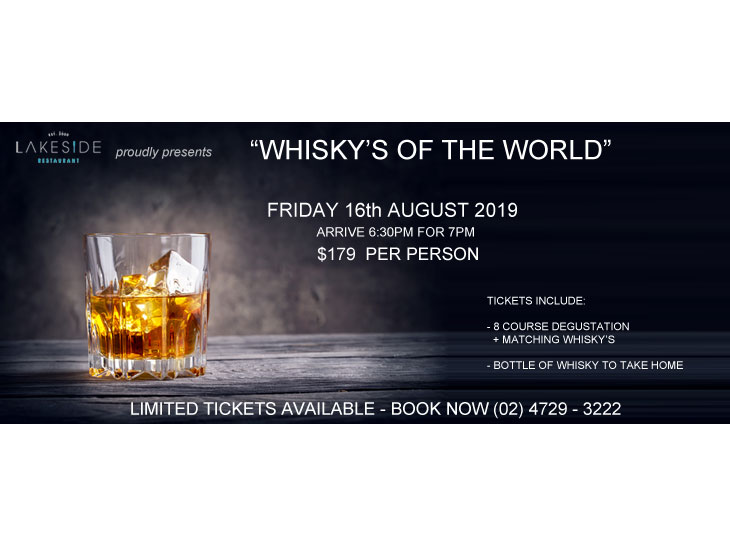 WHISKY's OF THE WORLD